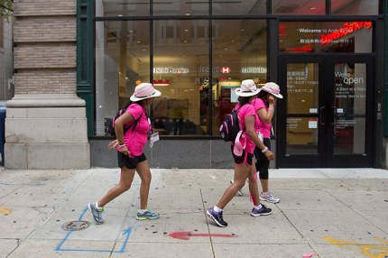 Shilpa, Ritu, and Swati hit the Philadelphia streets on Day 3 of 60 miles to find a cure for breast cancer