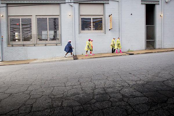 rain poncho 2013 Atlanta Susan G. Komen 3-Day Breast Cancer Walk