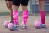 Pink Pom Pom Shoes Susan G. Komen 3-Day