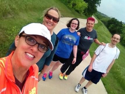 2014 susan g. komen 3-day breast cancer walk dallas fort worth training selfie