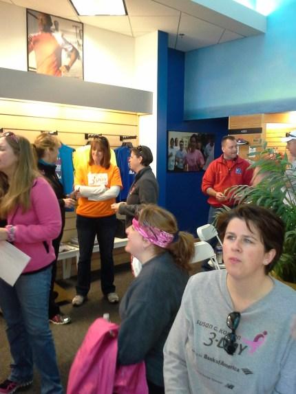 2014 susan g. komen 3-day breast cancer walk michigan training new balance