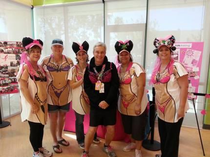 2014 susan g. komen 3-day breast cancer walk san diego hula hooters