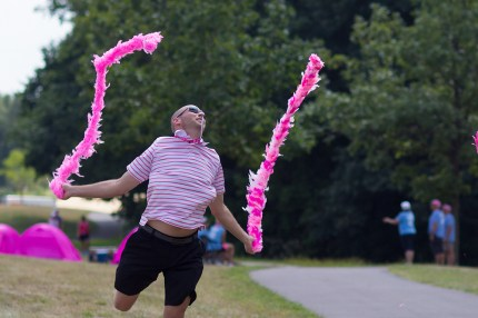 susan g. komen 3-day breast cancer walk reasons why it's great to be a guy on the 3-Day flying boas