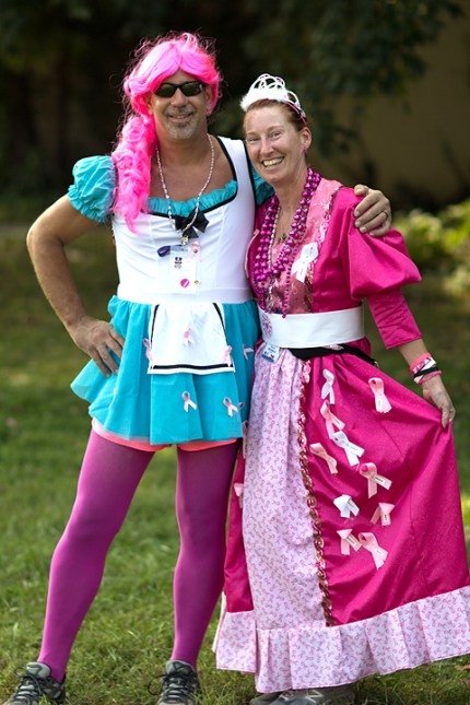 susan g. komen 3-Day breast cancer walk blog crew costumes