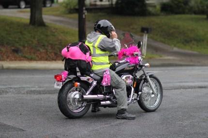 susan g. komen 3-Day breast cancer walk blog crew motorcycle bra