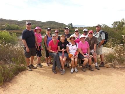 susan g. komen 3-Day breast cancer walk june san diego daley ranch training