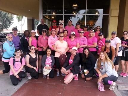 susan g. komen 3-Day breast cancer walk june san diego fullerton cliffs crew