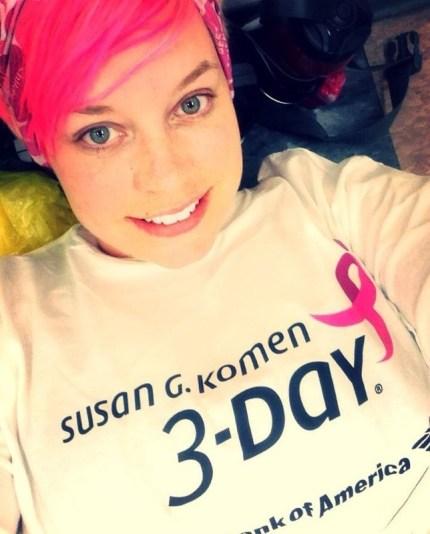 susan g. komen 3-Day breast cancer walk blog full series walkers all seven events melissa province