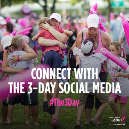 susan g. komen 3-Day breast cancer walk blog 60 miles twitter tweet chat