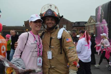 susan g. komen 3-Day breast cancer 60 miles walk blog rachel toomey
