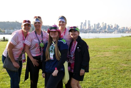 susan g. komen 3-Day breast cancer 60 miles walk blog seattle route