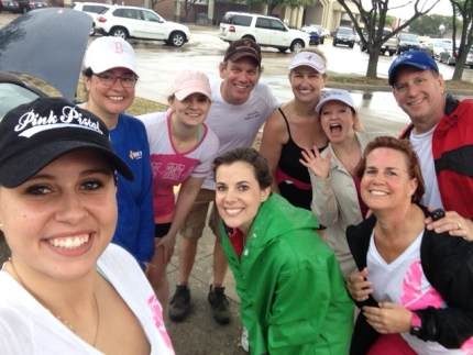 Komen_3day_dallas fort worth_rainy training walk_team independence