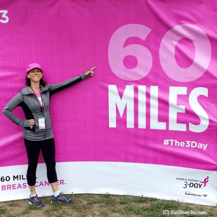 susan g. komen 3-day breast cancer walk blog 60 miles philadelphia jessica cohen eat.sleep.be
