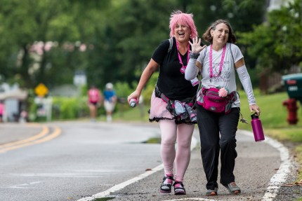 Day 1 of the Susan G. Komen 3day walk in Novi, Michigan on August 4, 2017.