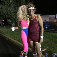 THJ Crewing Sweep with Husband Stu - 80s Workout Theme PL15