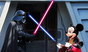 TUSSLE BETWEEN ESPN AND STAR WARS, TAKE PARTIAL PROFITS ON DISNEY BEFORE MARKET CLOSE $DIS