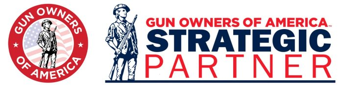Gun Owners of America Strategic Partnership banner