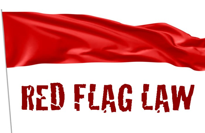 red flag laws banner