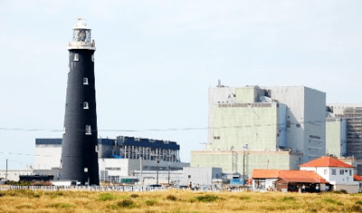 Dungeness Power Station and Lighthouse