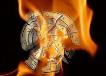 Flaming Euro