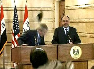 Pres Bush Shoe