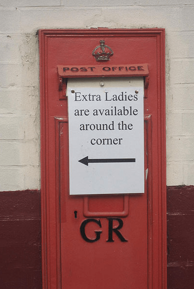 Good News If You Ever Run Out Of Ladies