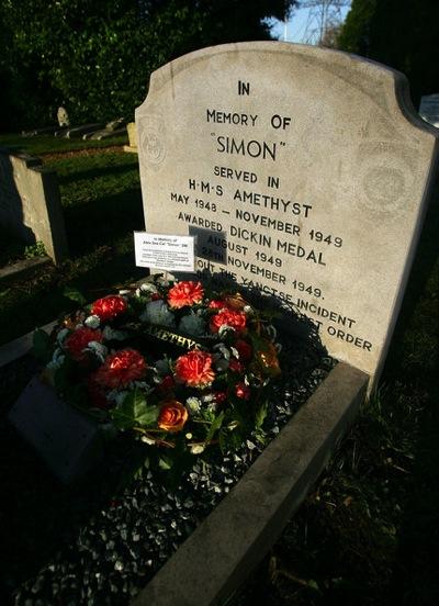 Simons grave