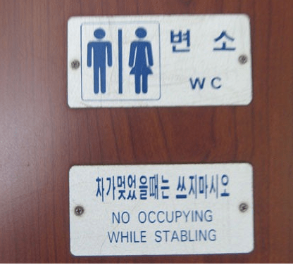 Nothing to see here just a normal North Korean toilet