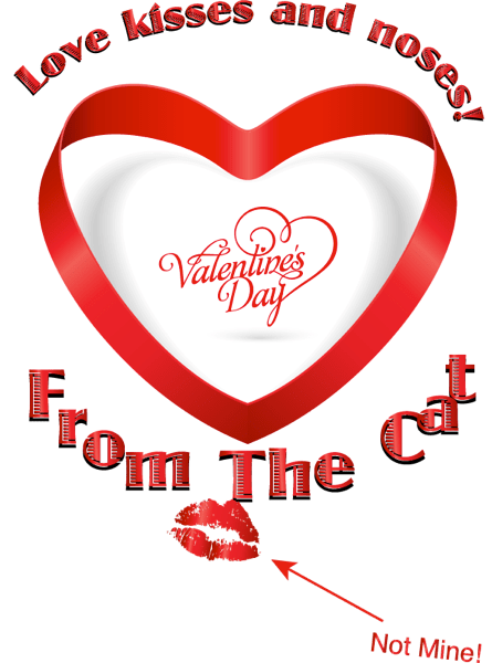 Cats Valentine s Card 2014