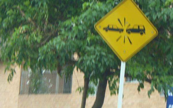 Mandatory collisions Bogota Colombia