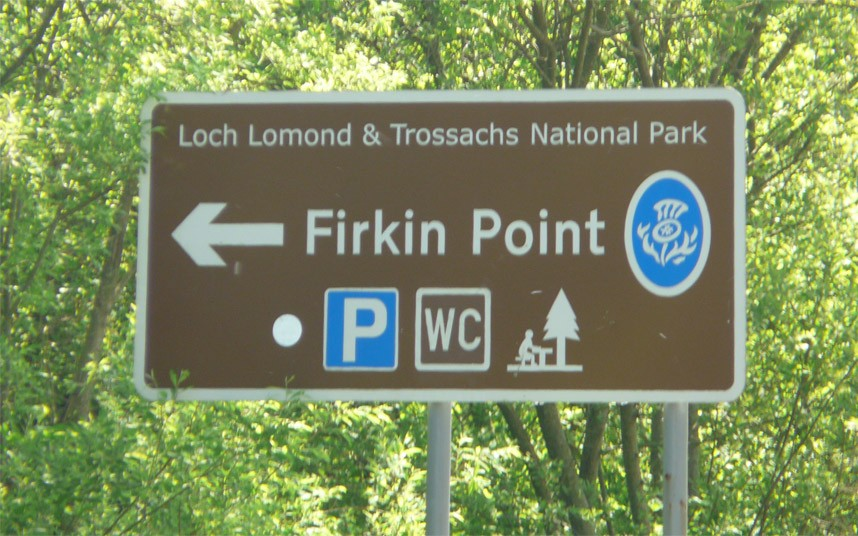They re always firking pointing in Scotland