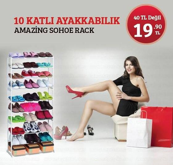 Nice sohoe nice rack Istanbul