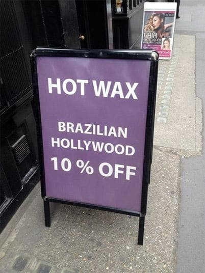 Shouldn t the wax take off more than 10 percent
