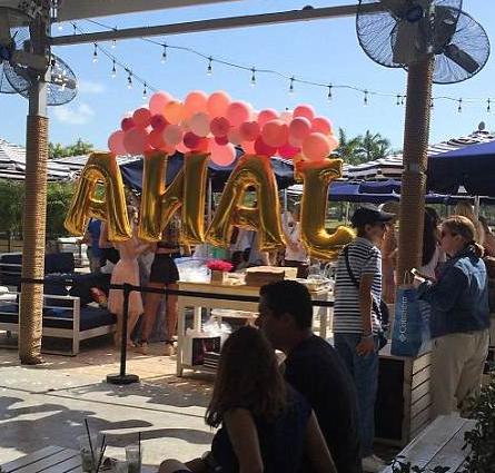 Birthday balloons yea