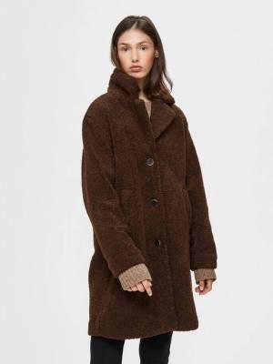 Halloween Selected Femme Teddy Coat