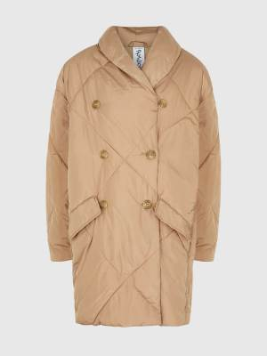 FREE PEOPLE QUILTED SHELL JACKET