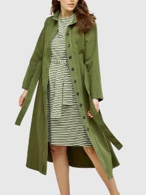 Rental coats PEOPLE TREE ELINA OVERCOAT