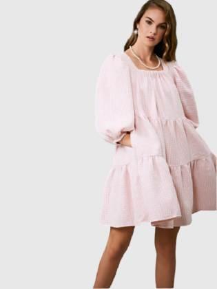 Rent SISTER JANE ROSY KNEES TWEED CONFETTI DRESS