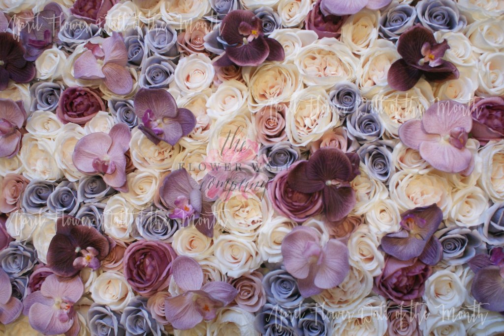wedding flower wall karen tran
