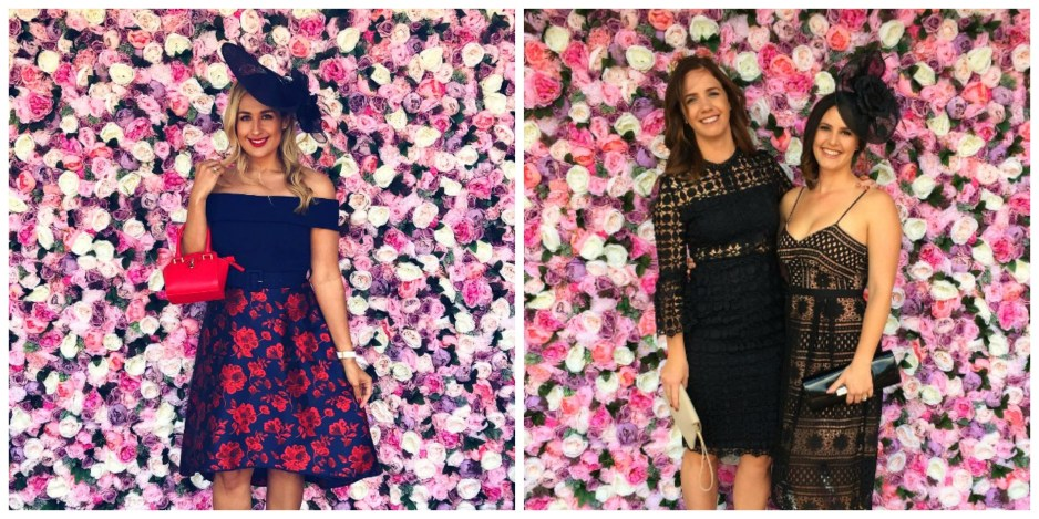 peony flower wall perth racing floral backdrop