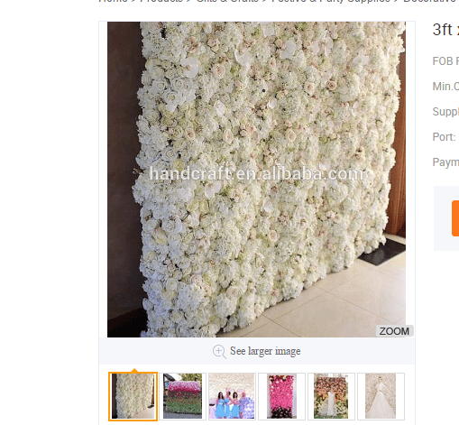 london flower wall company