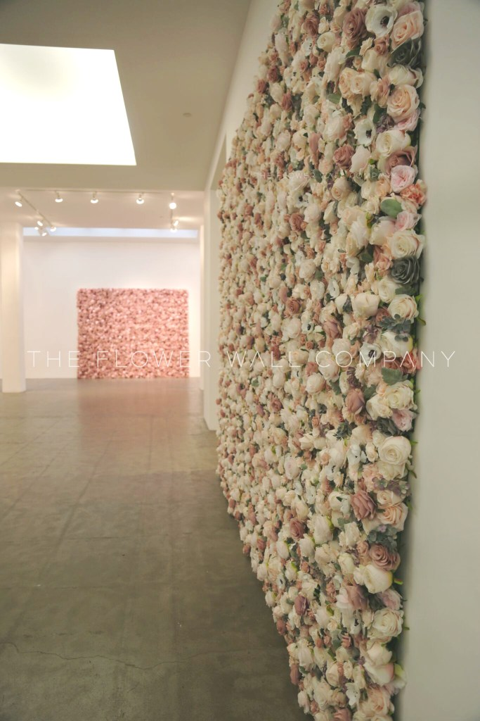 flower wall floral backdrop blush cheap hire flower backdrop london new york melbourne sydney fashion week