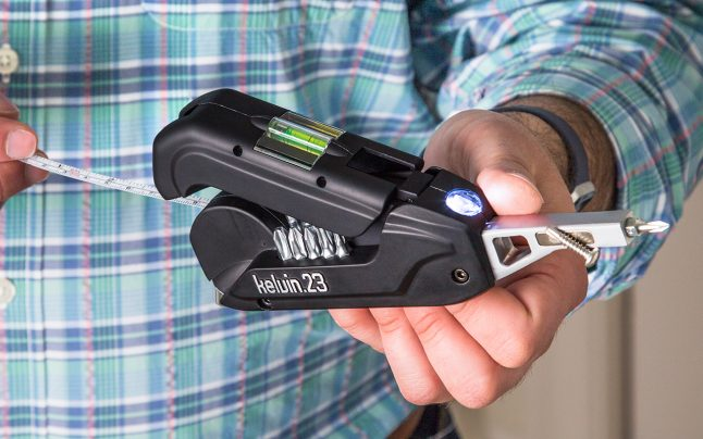 Kelvin Tools 36-in-1 delux multi-tool has a screwdriver, tape measure and more in 1 tool