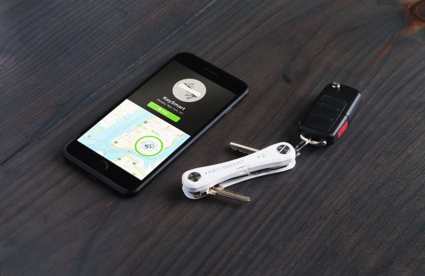 KeySmart's Tile Smart location key organizer pairs with the Tile app to help you locate your keys