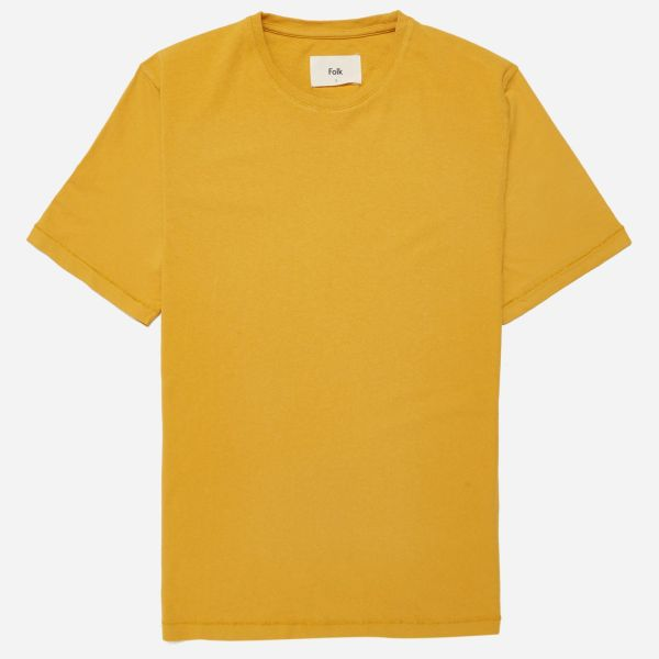 Folk Contrast Sleeve T-shirt