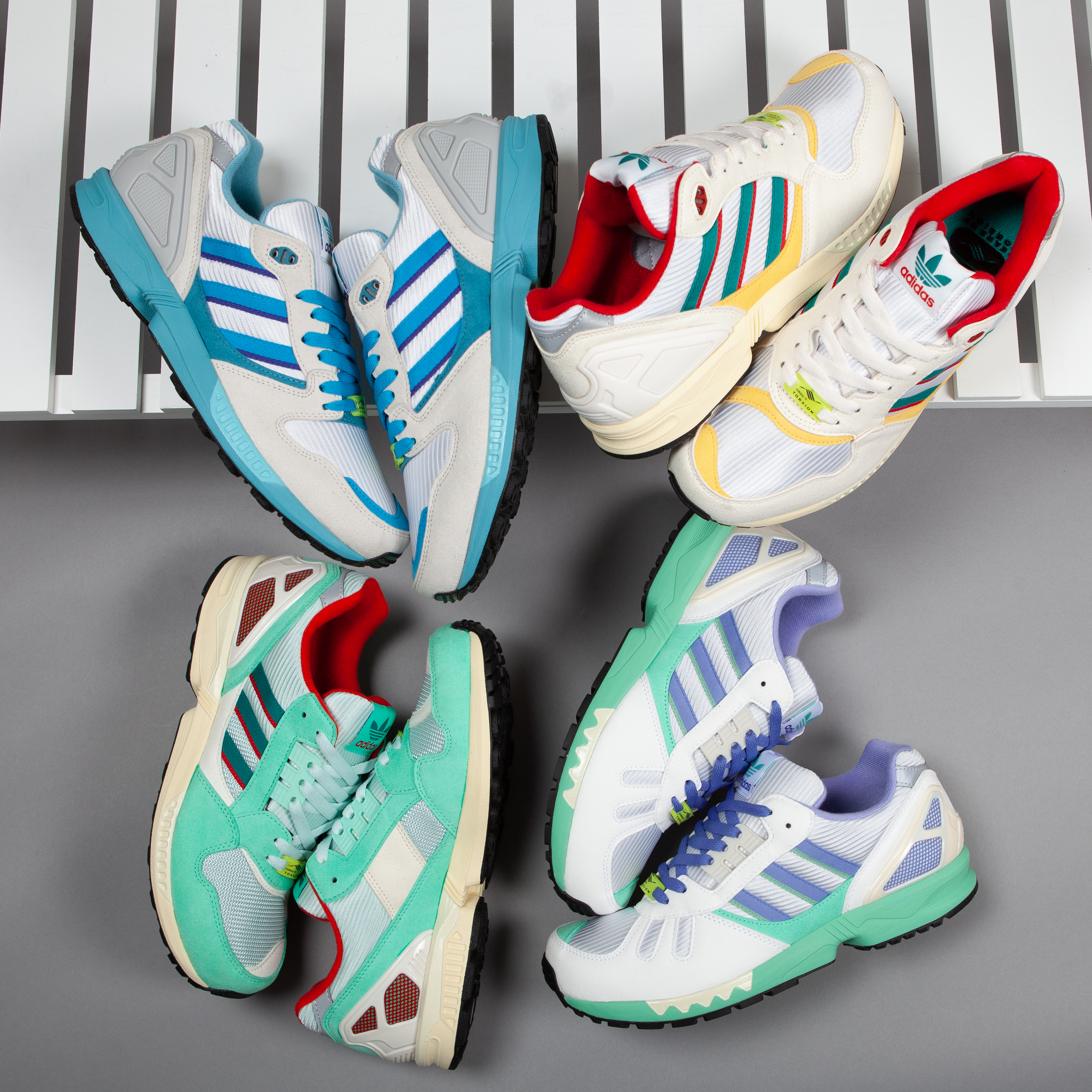 adidas Originals ZX 5000 Response White Blue Orange