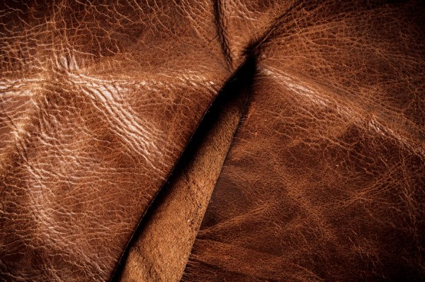 Genuine leather is the third type of finish that indicates a rough and unattractive surface.
