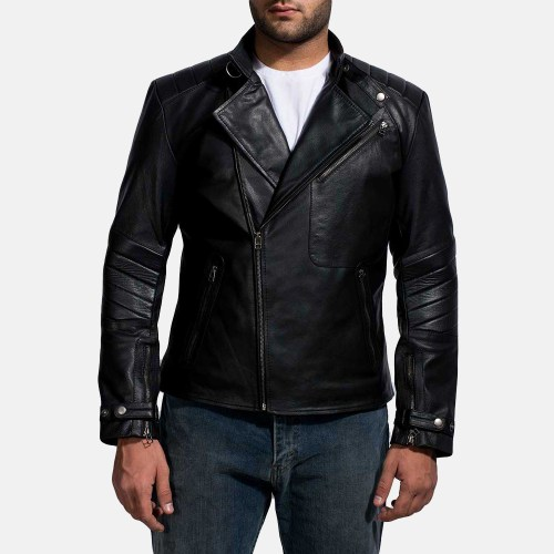 What you really want to look for in your first leather jacket purchase is a classic style of motorcycle jacket that has minimum design or detail elements.