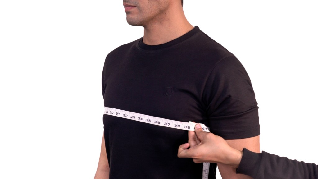 Taking Chest measurement
