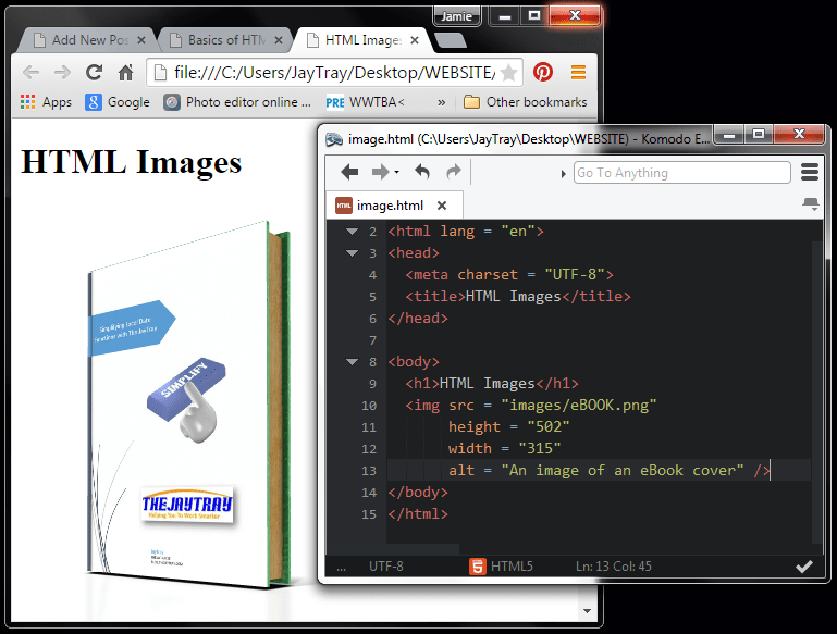 code for inserting html images